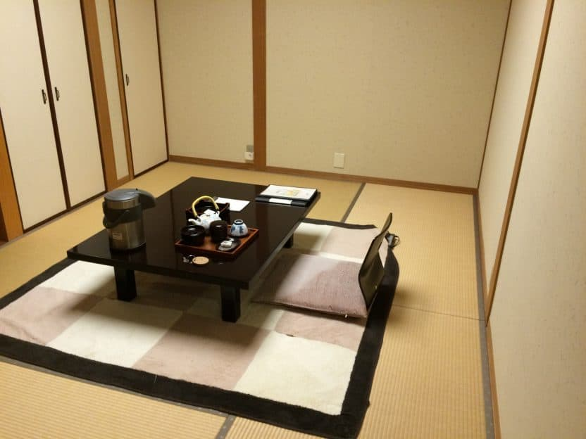 Come comportarsi in un Ryokan o in un Minshuku