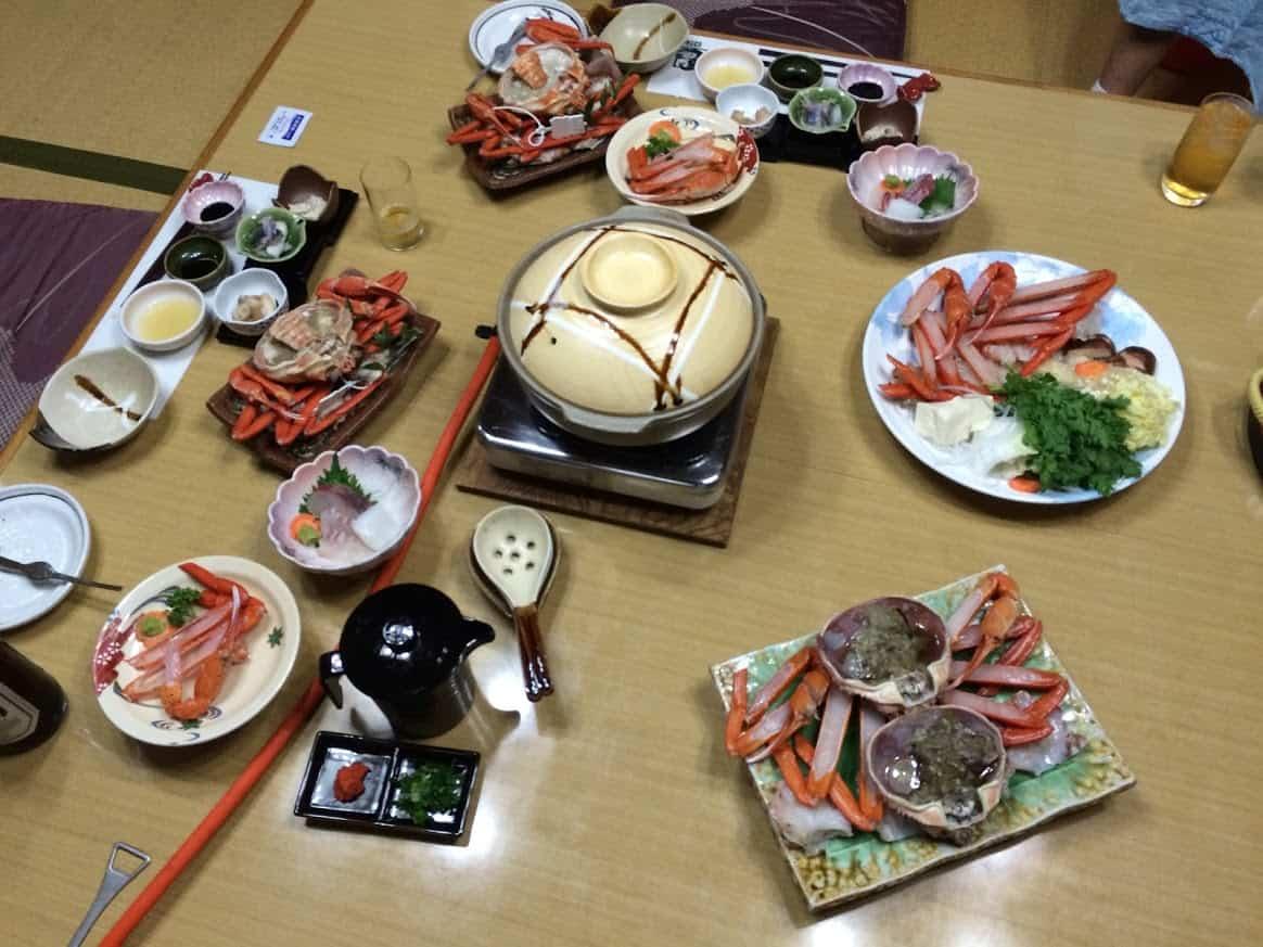 Una notte in un Minshuku di Kinosaki Onsen