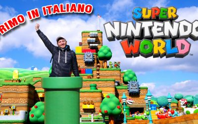 Super Nintendo World USJ Giappone – Primo Tour in Italiano