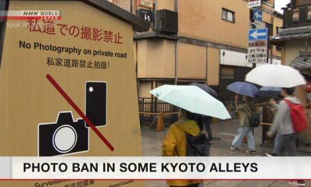 Da oggi è proibito fare foto alle Maiko a Kyoto