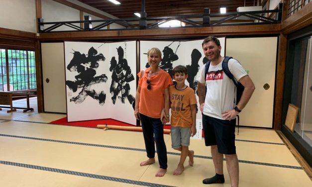 Marchino ci ha organizzato un viaggio stupendo in Giappone
