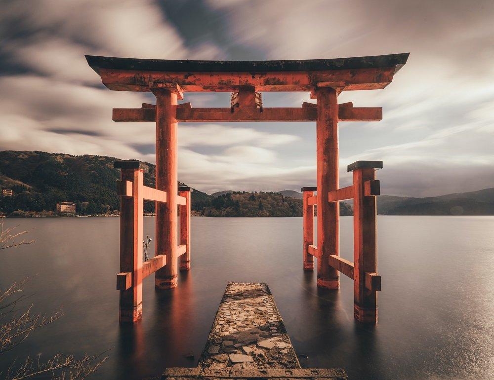 Hakone torii